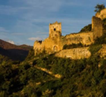 Le château de Lordat