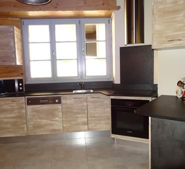 appartement 6 personnes à ax les thermes - coin cuisine