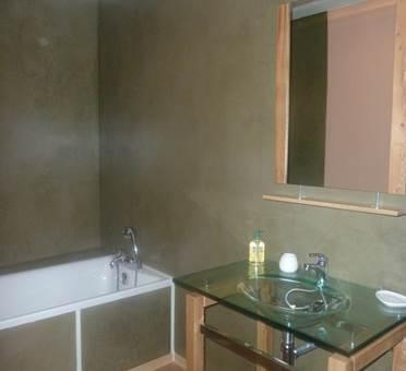 Salle de bains gîte La Grange Ariège