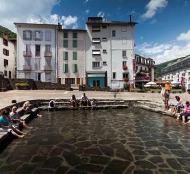 Ax-les-thermes ville d'eau
