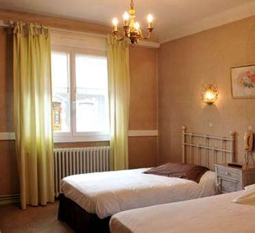 Hotel le valier chambre