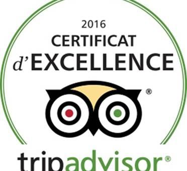 logo excellence tripadvisor 2016
