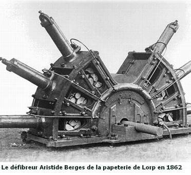 Défibreur installé à Lorp en 1862