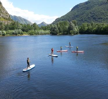 Paddle waterploof lac de sinsat