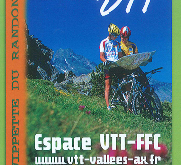Couverture Topo VTT Vallées d'Ax