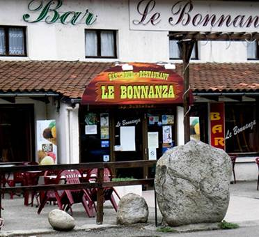 restaurant bar le bonnanza à la remise commune de Vèbre