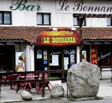 restaurant bar le bonnanza à la remise commune de Vèbre