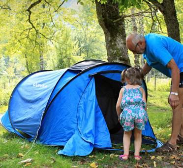 camping les ioules à orlu