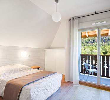 résidence lagrange confort + les chalets d'ax à ax les thermes chambre