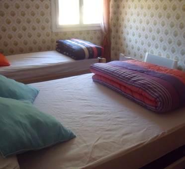 maison 6 personnes à albiés  - chambre