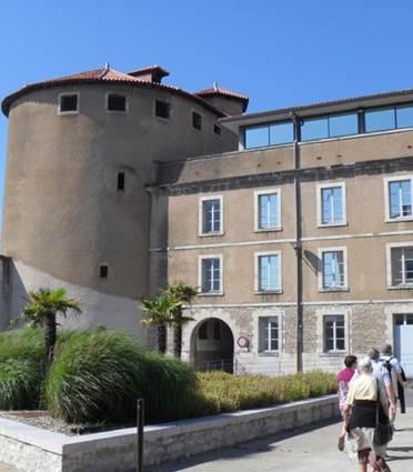 Un château au Petit-Bayonne