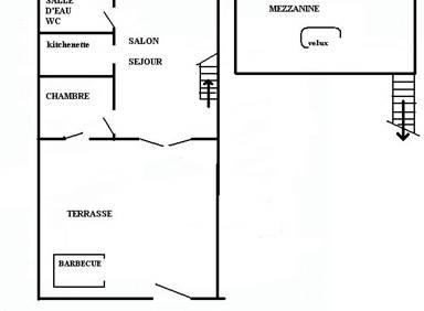 Villa / 4 personnes / LA FEUILLERAIE
