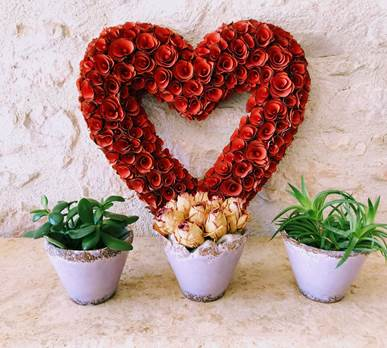 Weekend en amoureaux dans la chambre Felur de Vigne à Côté Granges