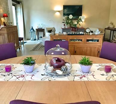Grand séjour du Domaine Côté Granges pouvant accueillir 10 personnes