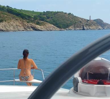 Catamaran Rina journée crosiière