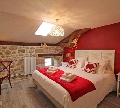 Chambre cle´dier, la Vieille Maison de Pensol, Haute-Vienne, Périgord-Limousin et Nouvelle-Aquitaine