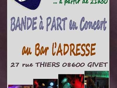 """Concert de """"Bande à Part"""""""