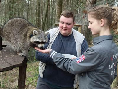 Devenez animalier d'un jour au Parc Argonne Découverte