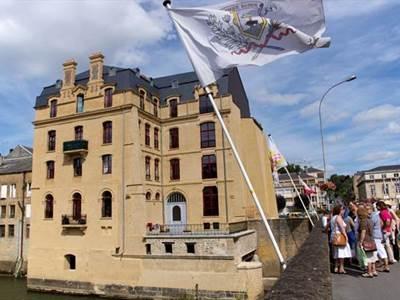 Visite guidée de Sedan Les Manufactures textiles de la Meuse au Dijonval