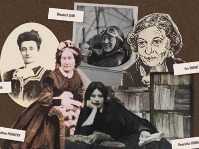 """Exposition """"Portraits de femmes remarquables des Ardennes, 1875-1975"""""""