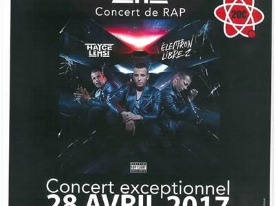 Concert de rap : Hayce Lemsi