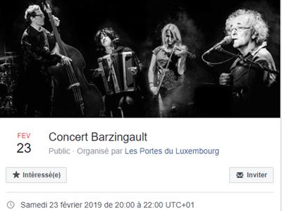 Concert Barzingault