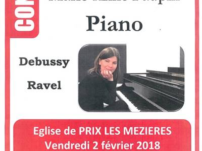 Concert de piano : Marie-Anne-Faupin