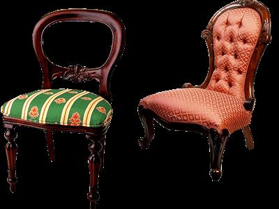 Plantes et Savoirs en Ardennes : réfection de fauteuils