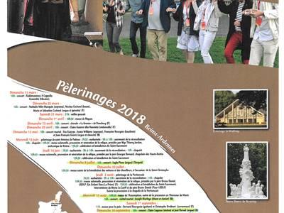Calendrier des concerts à l'église de Saint Antoine des Hauts Buttés