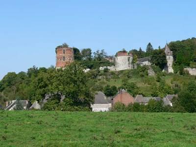 Les artistes au château de Hierges