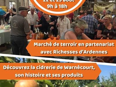 Portes ouvertes Cidrerie de Warnécourt