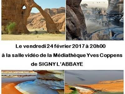 """Séance """"de par le monde"""" : Massif de l'Ennedi et Lacs Ounianga (Tchad)"""