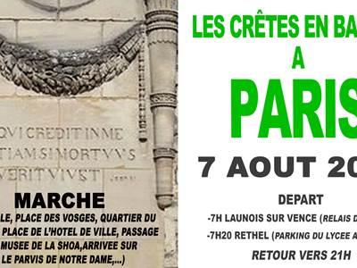 Les Crêtes en balade en à Paris