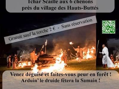 Randonnée contée d'halloween par les balades d'Arduin' à Nohan-sur-Semoy