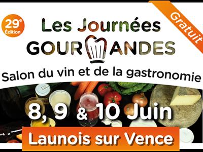 Journées Gourmandes 2019 : Salon du Vin et de la Gastronomie