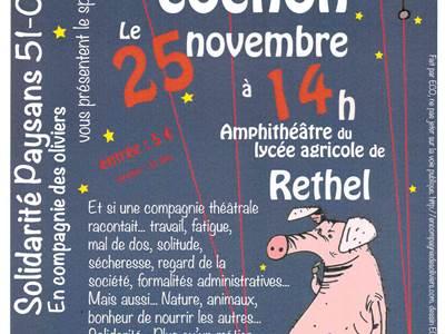 """Théâtre """"Un temps de cochon"""""""