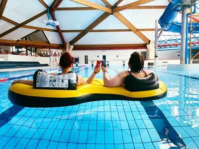 ciné-piscine au Centre Aquatique