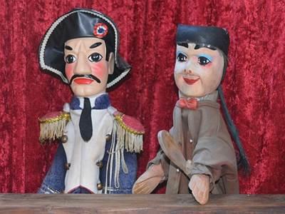 Exposition de marionnettes traditionnelles de l'Europe du Nord
