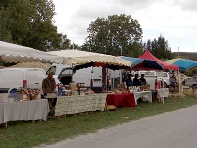Marché artisanal et campagnard