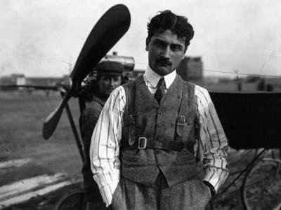 Roland Garros, pionner et héros de l'aviation