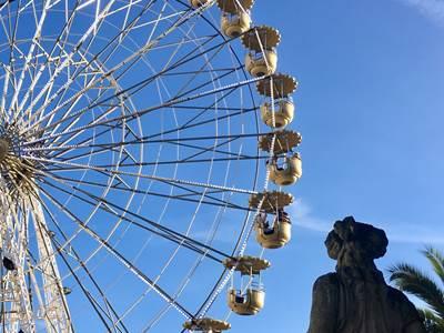 La grande roue (la journée!)