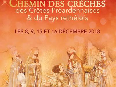 Noël d'Ardennes 2018, Chemin des Crèches à Chagny