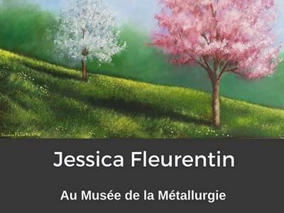Exposition de Jessica Fleurentin au Musée de la Métallurgie