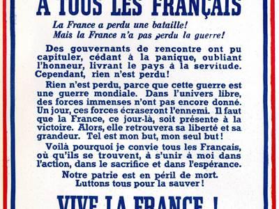 Journée nationale commémorative de l'appel du Général De Gaulle