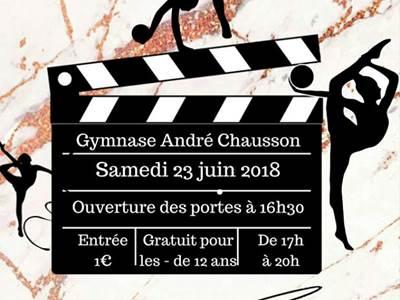 L'Olympique Rethélois Gymnique fait son cinéma !