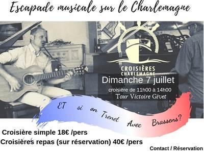 Escapade musicale sur le Charlemagne