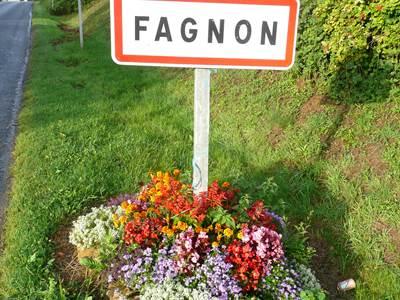 """FAGNON, Village Fleuri """"1 Fleur"""""""