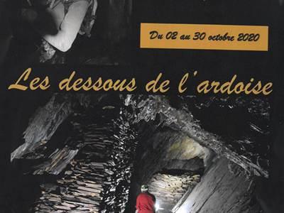 """Exposition photos de Mr Philippe Papier """"Les dessous de l'ardoise"""""""
