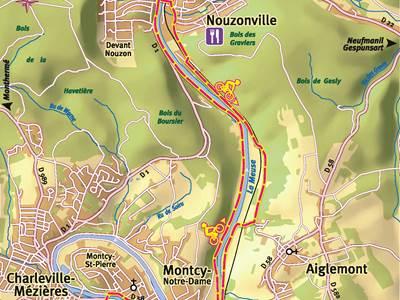 Voie verte Charleville-Mézières (Montcy Notre Dame) Nouzonville