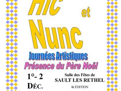 """4e édition Journées artistiques """"Hic et Nunc"""""""